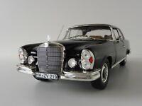 Mercedes-Benz 280 SE Coupe 1969 BLACK 1/18 Norev 183432 Mercedes W111 280SE