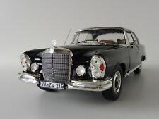 1 18 Norev Mercedes 280 se Coupe 1969 Black