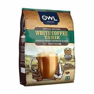 Owl Coffee Tarik Coconut Sugar Coffee Mix 540g ( 36g x 15 bags)