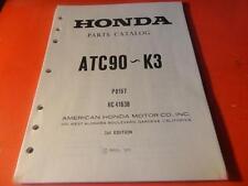 NEW OEM FACTORY HONDA PARTS CATALOG MANUAL 1971-75 ATC90 61 PAGES