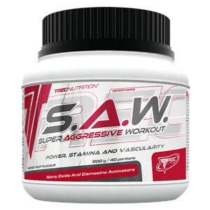TREC S.A.W. 200g MUSCLE STRENGTH, SUPER ANABOLIC PRE-WORKOUT CREATINE STACK SAW