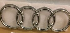 New Front Grill Chrome Badge Ring Logo Emblem Audi Q3 Q5 Q7 A4 A6 285x100mm