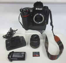 Nikon D3 12MP Digital SLR Camera with Accessories Shutter Count 47,039