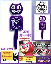 Ultra Violet Lady Kit Cat Clock Limited Edition Colour And Collectible Item Usa