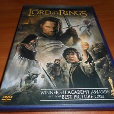 The Lord of the Rings:The Return of the King (Dvd, 2004,2-Disc Widescreen)
