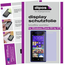 1x Windows Phone 8x by HTC screen protector protection guard crystal clear
