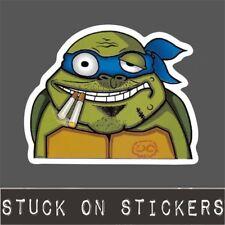 TMNT Sticker Smoking Mutant Turtle 420 Weed Laptop Decal Skateboard Bomb iPad