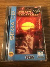 Brand New Dracula Unleashed •Sega Genesis CD CDX System/Console •TruVideo