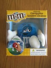 NEW IN BOX 2007 M & M'S BLUE CHAMOIS COMPUTER SCREEN CLEANER MAR'S INC.