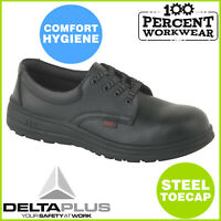 Pro Nurses Food Hygiene Kitchen Catering Mens Work Safety Shoes Steel Toe Cap