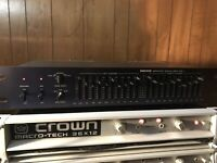 Nikko Graphic Equalizer EQ-I, 10 Band Per Channel, Excellent Workin Condition