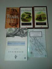 Lot Of 5 John Steinbeck Paperbacks