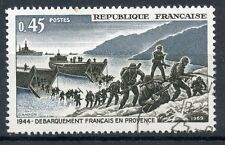 STAMP / TIMBRE FRANCE OBLITERE N° 1605 LIBERATION / DEBARQUEMENT EN PROVENCE