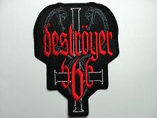 DESTROYER 666     EMBROIDERED PATCH