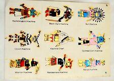 Vintage 1988's  sticker Sheet SW Kachina's foiled