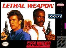Lethal Weapon Nintendo Super NES For Super Nintendo SNES Shooter 9E