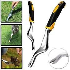 Garden Patio Hand Weed Weeding Weeder Remover Tool Moss Paving Stainless Steel