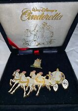 Beautiful In A Perfect Condition Cinderella Coach and Castle Disney 2 Pin Set