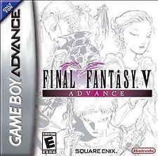 Final Fantasy V Advance  GBA (Nintendo Game Boy Advance, 2006)