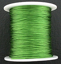 Green Stretch Elastic Bead Cord .5mm 98 Feet