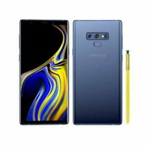 Samsung Galaxy Note 9 (Unlocked) Dual SIM 128GB 4G LTE 6.4in 8MP 6GB RAM Blue