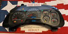 REBUILT 120k 2005 GM TRAILBLAZER Speedometer Instrument Gauge Cluster Dash 03 04
