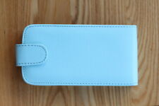 Blue Mobile Phone Flip Top Cover