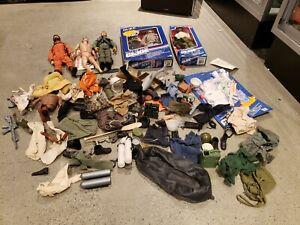 Wow . . . GI Joe Mixed Lot . . . Vintage Toy Treasure . . . Original Owner!!