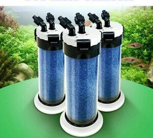 External Aquarium Filter Sponge Water Pump Pond Filtration Fish Tank Canister