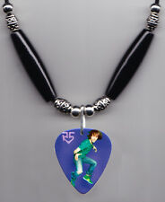 R5 Rocky Lynch Photo Guitar Pick Necklace