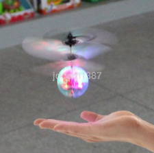 Infrared Induction Helicopter Flying Ball Flashing LED Light Kids Toy Gift US