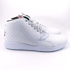 c9b209ef6e7c New Mens Jordan Eclipse Chukka White Gym Red Black Shoes Size 13 (881453-101