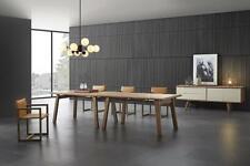 Ess Mesa Doble Conjunto 4x Sillas Set Habitación 6tlg. Italia Mueble Nuevo