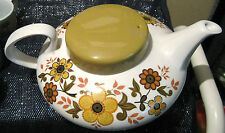 Vintage Ridgway Harvest Gold pattern teapot in a fantastic design.  Superb!!