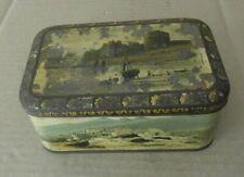 "Antigua caja Hojalata "" Carr & Co Biscuit manufacturers Carlisle, inglesa"