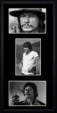Charles Bronson Framed Photographs PB0640