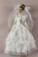 Fashion Royalty Princess Dress/Clothes/Gown+veil For 11.5 in. Doll c56