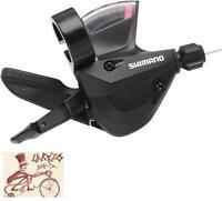SHIMANO SL-M310 ALTUS RAPID FIRE 8 SPEED BLACK REAR BICYCLE SHIFTER
