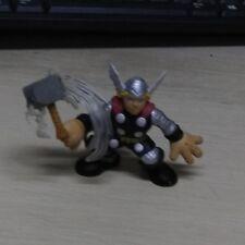 MarvelHasbro  Super Hero Squad THOR Lightning Motion Blur Swinging Hammer Toy
