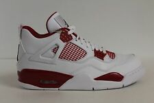 NIKE AIR JORDAN 4 RETRO IV Alternate 89 White Gym Red 308497 106 Size 12