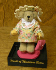 World of Miniature Bears #760 PEARL, by Becky Wheeler, NEW from Retail Store
