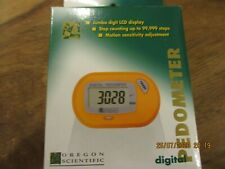 NEW Digital Pedometer By Oregon Scientific, BNIB