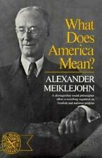 What Does America Mean? (Norton Library-ExLibrary