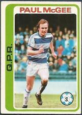 TOPPS 1979 FOOTBALLERS #196-QPR-SLIGO RANGERS-PAUL McGHEE *ROOKIE*