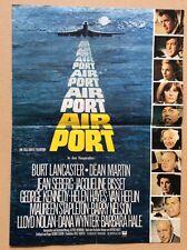 Airport (Werbeflyer '70) - Burt Lancaster / Dean Martin / Jean Seberg