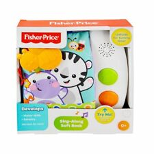 Fisher Price - Sing Along Soft Book with Sounds Song for Baby Education Gift