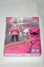 Bandai S.H.Figuarts Shinken Pink Shinkenger Power Rangers Samurai New