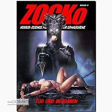 ZOCKo 6 Tod und begraben HORROR Fumetti Neri EROTIK Nightmare SciFi COMIC Zacko