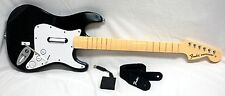 Nintendo Wii/Wii-U Rock Band 1 Fender Stratocaster Wireless GUITAR WITH DONGLE