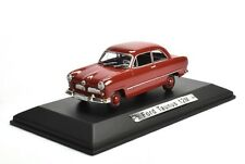 Ford Taunus 12M red Atlas DieCast Model car 1/43 new and box